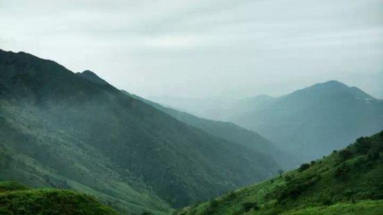 惠州大南山一个同时拥有武功山高山草甸、船底顶高原风光的地方;