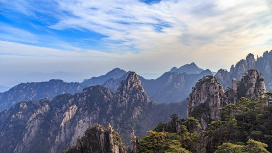 Huangshan Fuxi Wild Monkey Valley