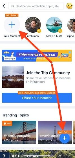 Great Things Are Waiting at the Trip Moments Community