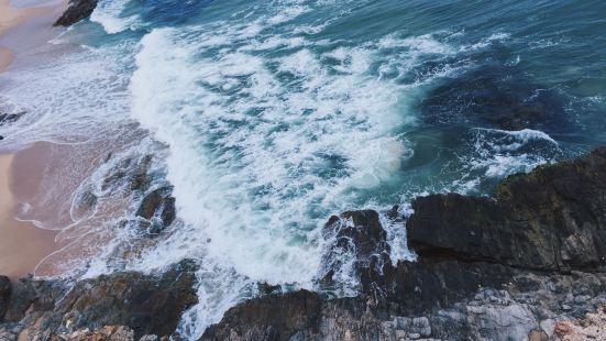黑排角海岸线|广东最美➕最有特色的原生态海岸线⚜️山与海,非