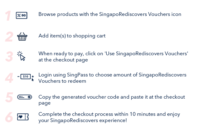 SingapoRediscovers Vouchers: Get ready to #TripHomeSG ❤️