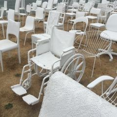 'Sickening' attack on 185 Chairs Memorial User Photo