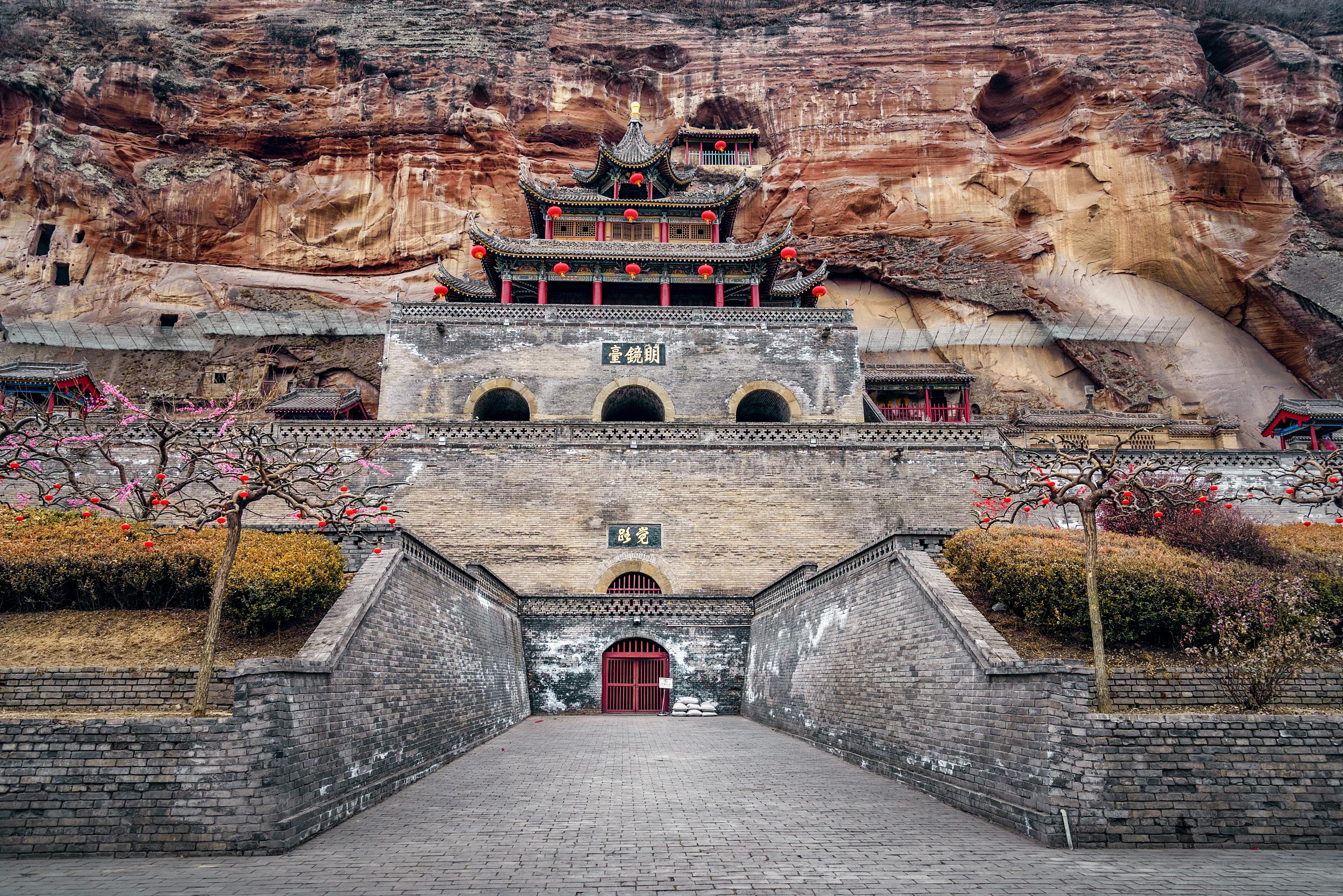 Xianyang Binxian County Grand Buddha Temple