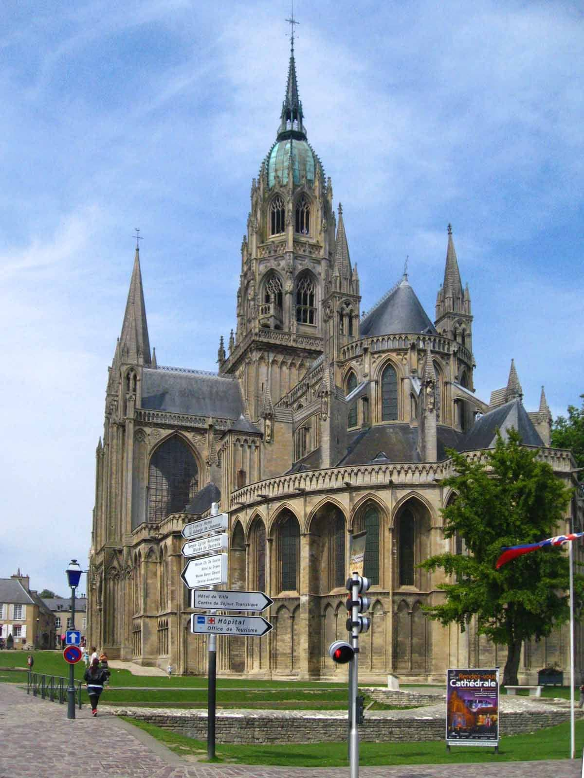 Bayeux Cathedral Travel Guidebook Must Visit Attractions In Bayeux Bayeux Cathedral Nearby Recommendation Trip Com