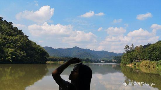 广州周边竟然也有天空之镜?这里还有竹林山水,日式木屋·里面一