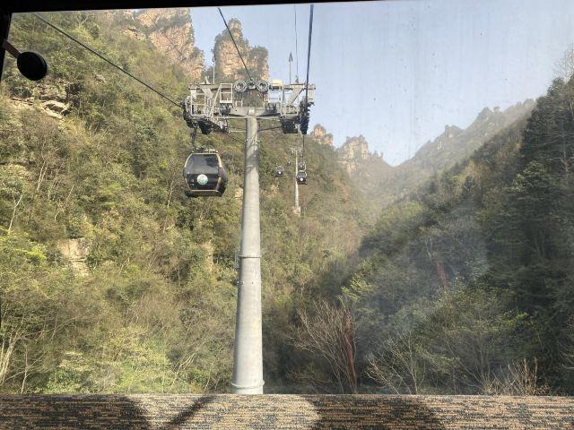 톈쯔산 케이블카