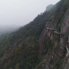 Glass Bridge Scenic Area of Shiniuzhai 여행 사진