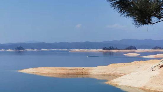 没想到这里隐藏着这么美的风景——万绿湖,乘游船玩登了三个岛屿
