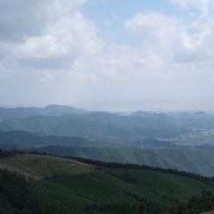 둥첸호 푸취안산 관광지 여행 사진