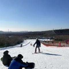 다롄 밍호 국제 온천 스키 리조트 여행 사진