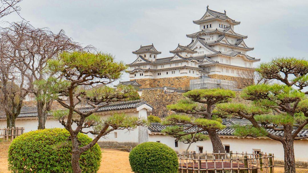Himeji Castle,Akashi Kaikyo,Maiko Marine Promenade Walking Tour(Round-Trip from Kyoto)