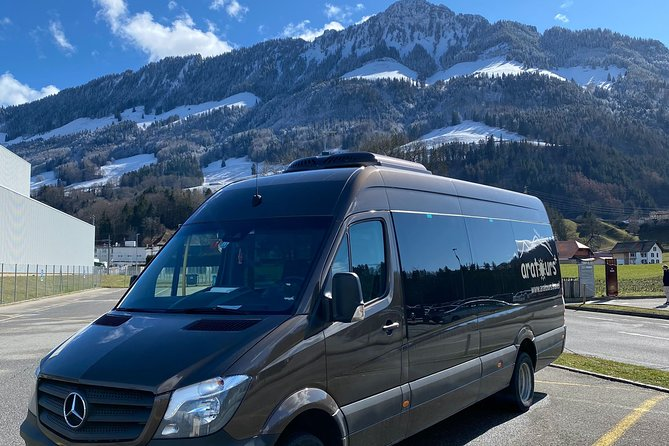 Private Arrival Transfer: from Zurich Airport to Thun