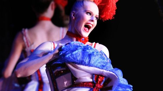 Paris Moulin Rouge Cabaret Show with Champagne Only or Dinner