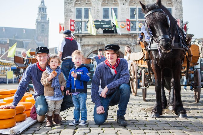 Alkmaar Cheese Market Half Day live guided Tour