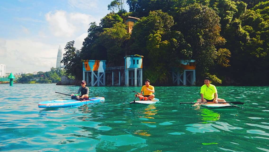 Stand Up Paddle + Fort Siloso Sentosa day tour
