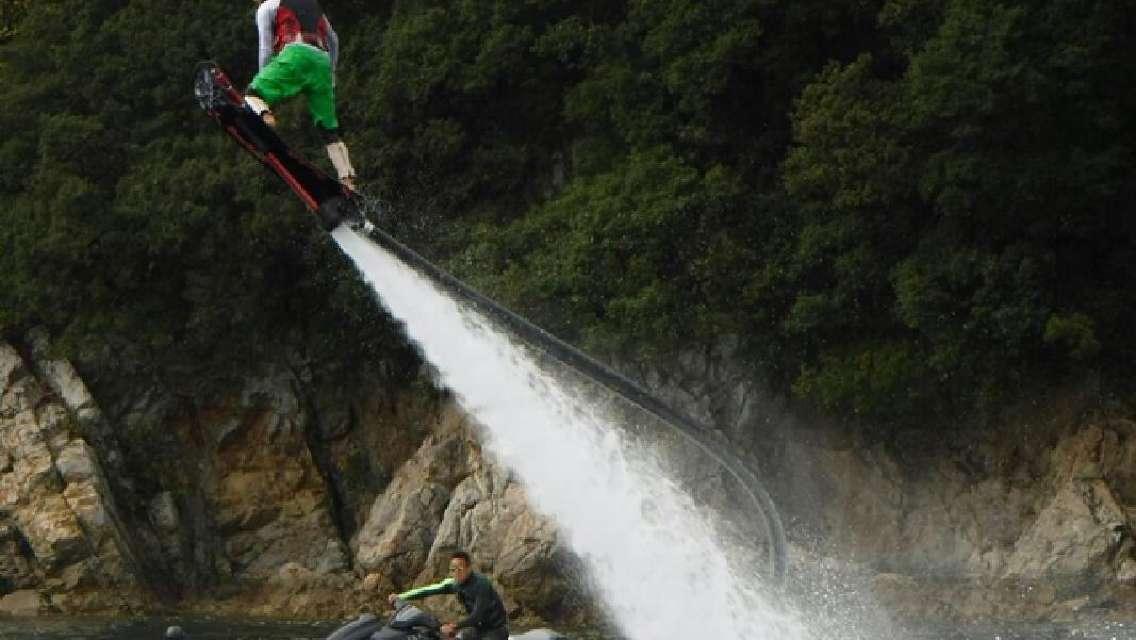 ホバーボード 空飛ぶサーフィンを体験しよう[アクアライズ/たつの市]