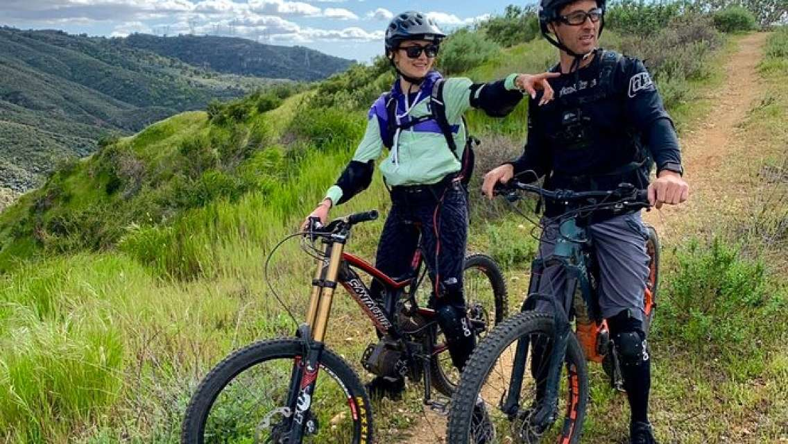 Electric Mtn. Bike Experience -Newhall Up The Beast Viper Trail (Intermediate)