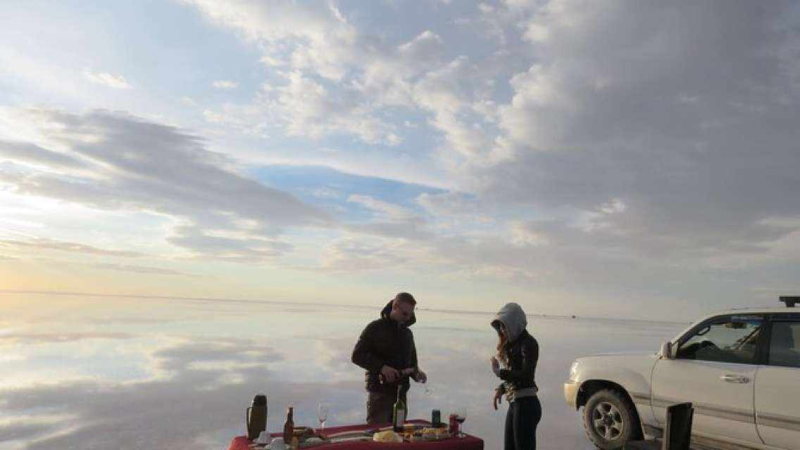 Visit to Uyuni Salt Flats from La Paz Bolivia by Bus