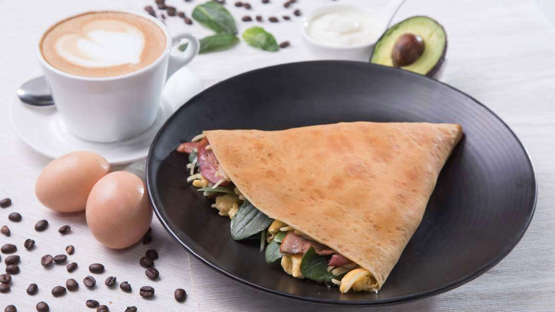 K11 Art Mall Café Crêpe - Crepe and Latte Breakfast Set Meal Voucher