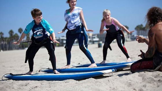 2 Hour Surf Lesson in Venice Beach