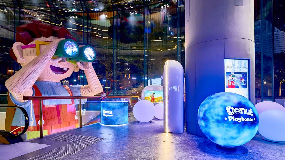 Up to 10% Off | K11 Musea Donut Playhouse Discount Ticket