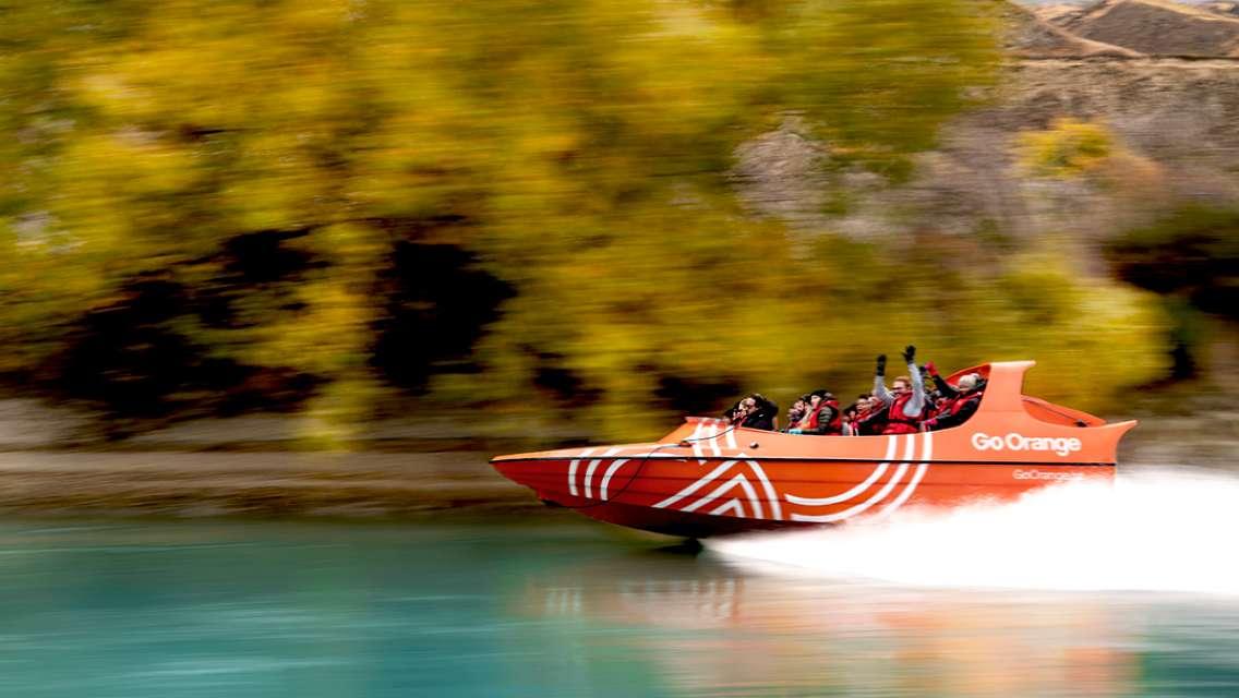 Go Orange Jet Boat Experience in Queenstown