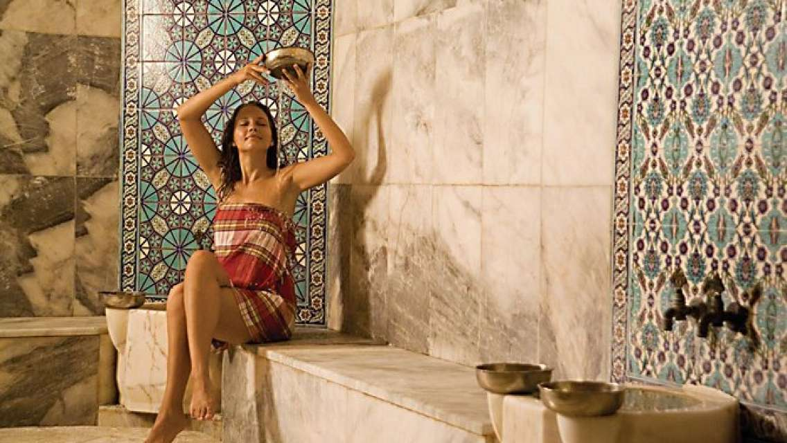 Turkish Bath Experience with Massage from Belek
