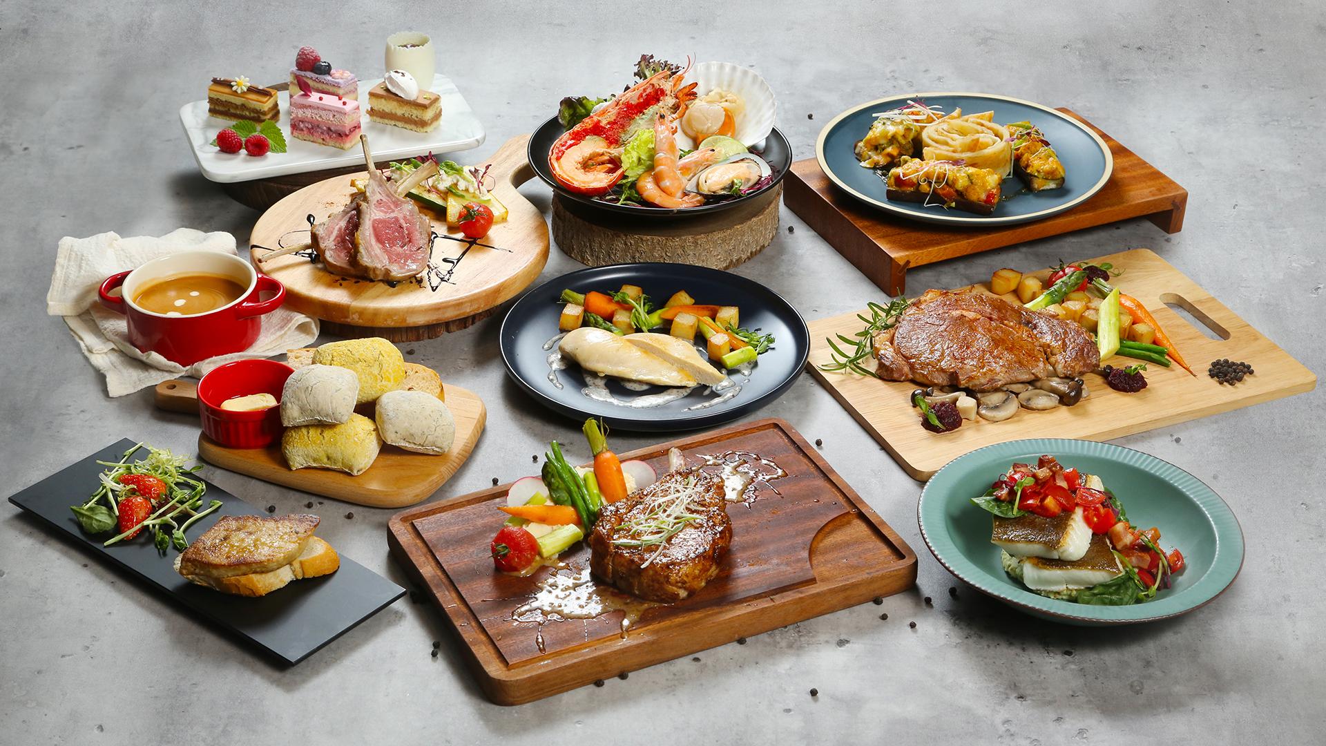 香港挪亞方舟豐盛閣餐廳 - 豐盛晚餐 / 海陸盛匯精品晚餐