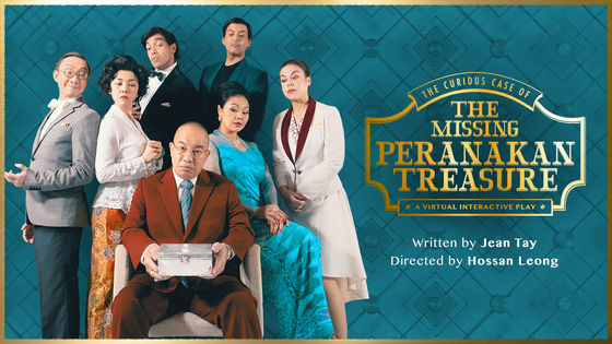 【1 for 1】The Curious Case of the Missing Peranakan Treasure (A Virtual Interactive Whoddunit)