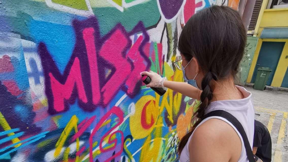 Counter-culture Street Art Workshop at Kampong Gelam