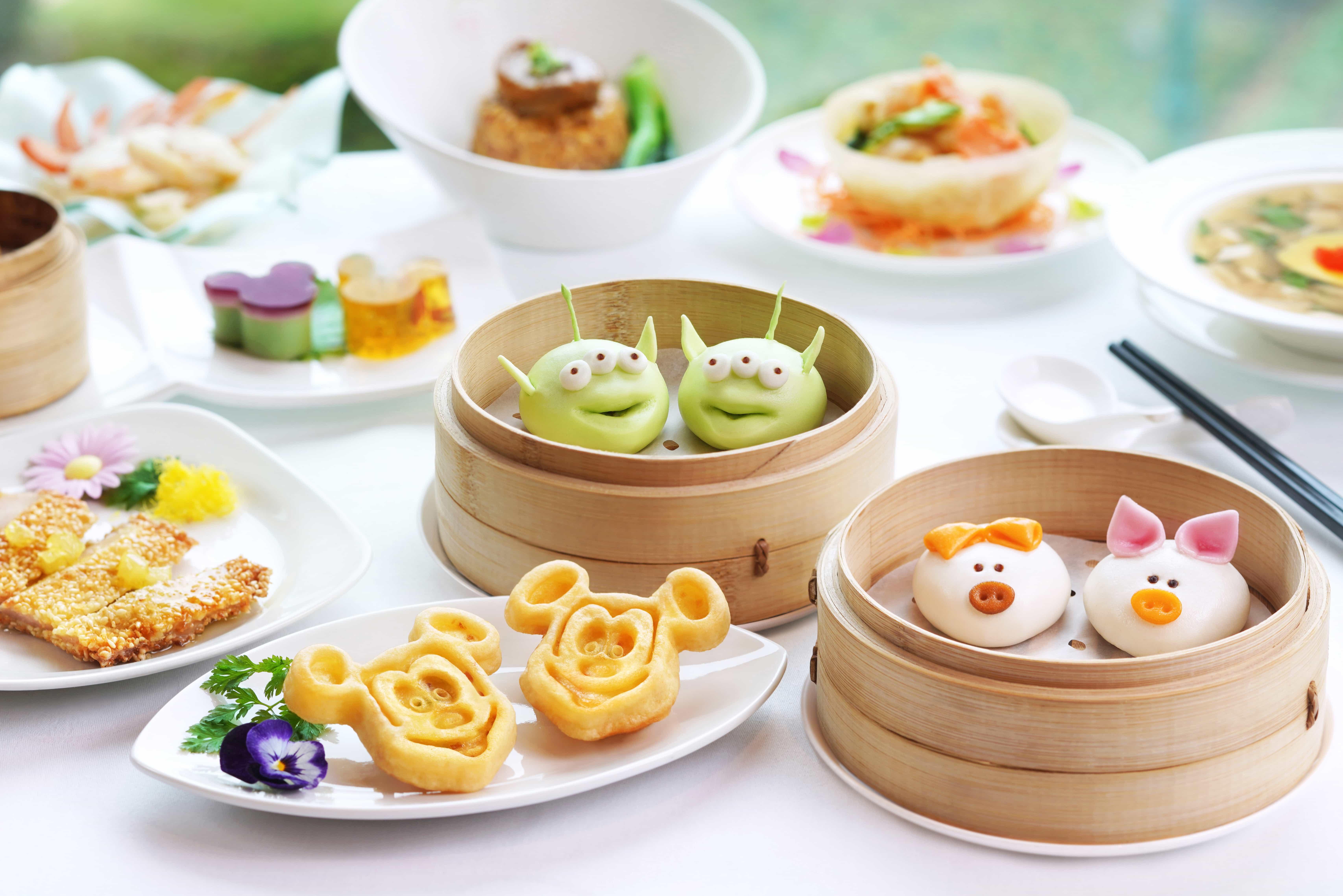 香港迪士尼樂園及酒店下午茶/點心優惠套餐/餐券(低至8折| 必試迪士尼特色造型點心)