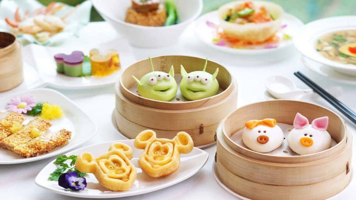 香港迪士尼樂園/酒店餐飲優惠 - 酒店點心優惠套餐/園內下午茶/餐券(低至8折| 必試迪士尼特色造型點心)