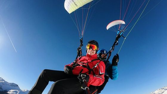 DAVOS: Paragliding For 2 Passengers - Together In The Air! (Video&Photos Incl.)