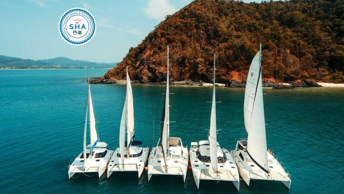 [Chartered Yacht] Selected Route Racha Island/Coral Island/Khai Island [SHA Certification]