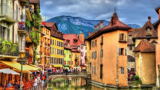 Private trip from Geneva to Annecy in France
