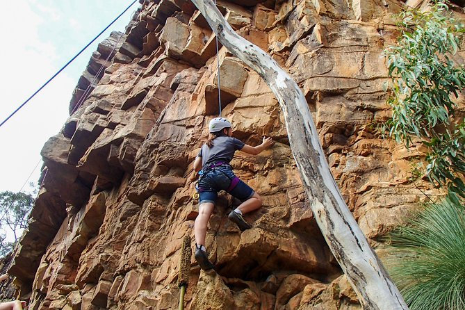 Climbing in National Parks - Morialta