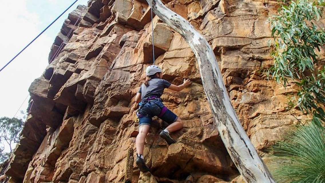 Climbing in National Parks - Morialta