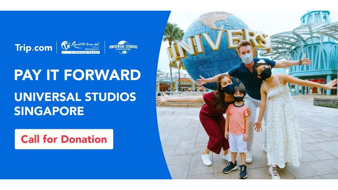 Pay It Forward | Filos Community Services x Universal Studios Singapore