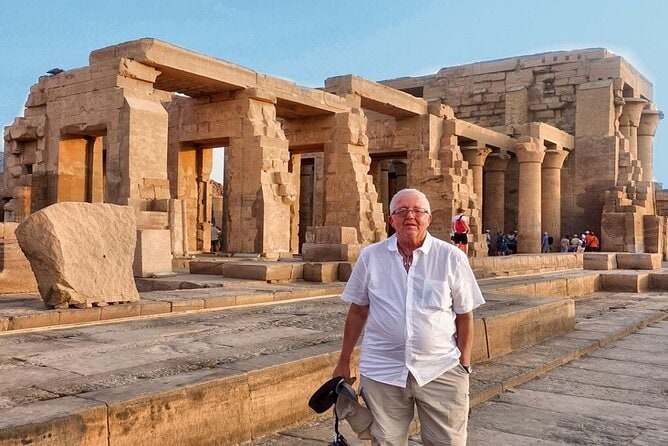 A day from Aswan to Kom Ombo by train