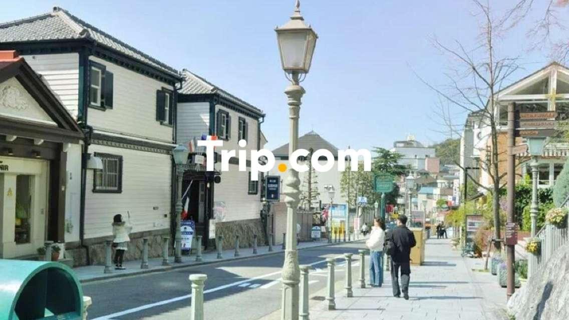 【大阪市内発】<プライベートツアー>話題の「カフェテラス・ド・パリ」で神戸牛コースを♪異国情緒あふれる北野異人館街散策&たっぷり3時間の有馬温泉街巡り【Trip.com公式ツアー】