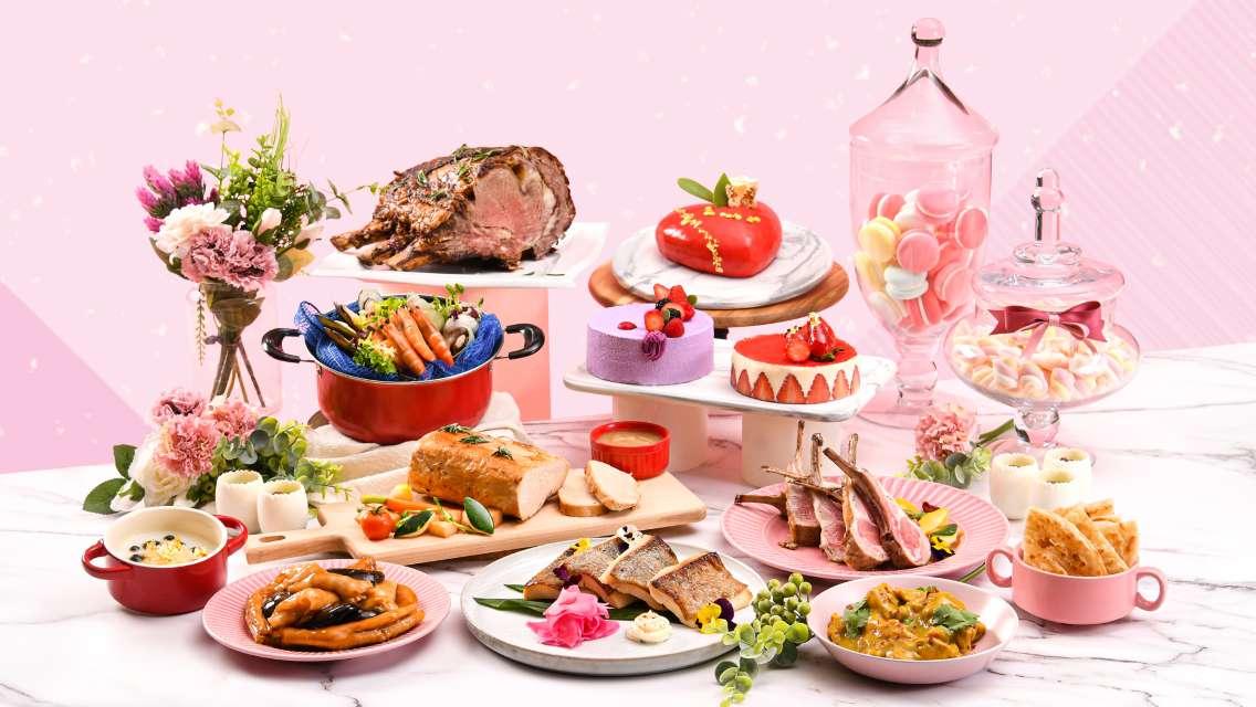 Noah's Ark Hotel & Resort Harvest Restaurant Mother's Day Lunch Buffet/Harvest Dinner/Land&Sea Fiesta