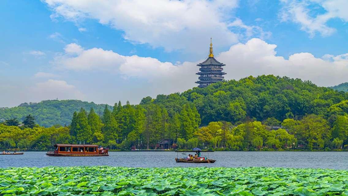 杭州西湖+靈隱寺一日遊(10點集合 純玩團 含西湖遊船)