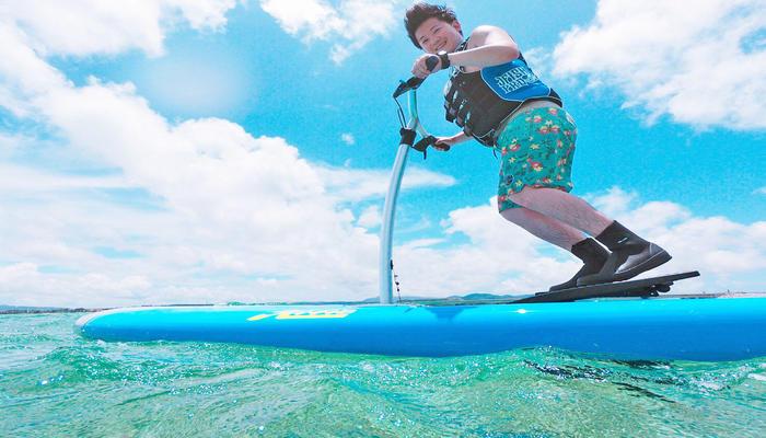 【沖縄・古宇利島・SUP】新感覚サップを体験♪ パドルサップ レンタル 60分