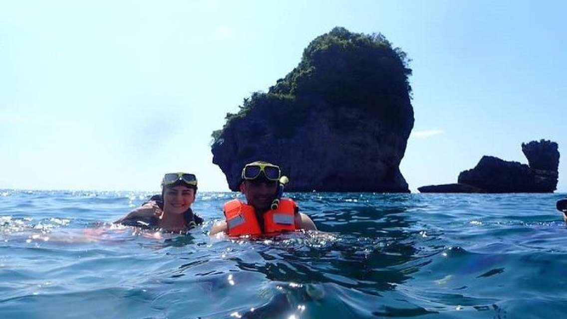 Phi Phi Island Viking Cave Monkey Beach Khai Island Tour from Phuket