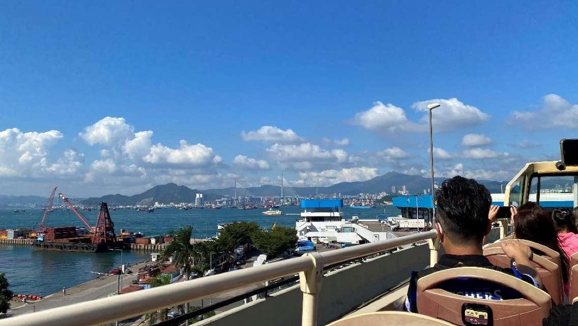 Big Bus 開篷巴士Chill 遊香港島半日遊(6折連西餐輕食)