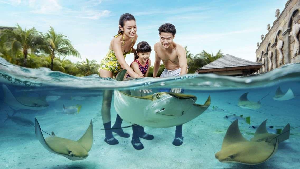 Universal Studios Singapore / S.E.A. Aquarium™ / Adventure Cove Waterpark™ Retail Voucher