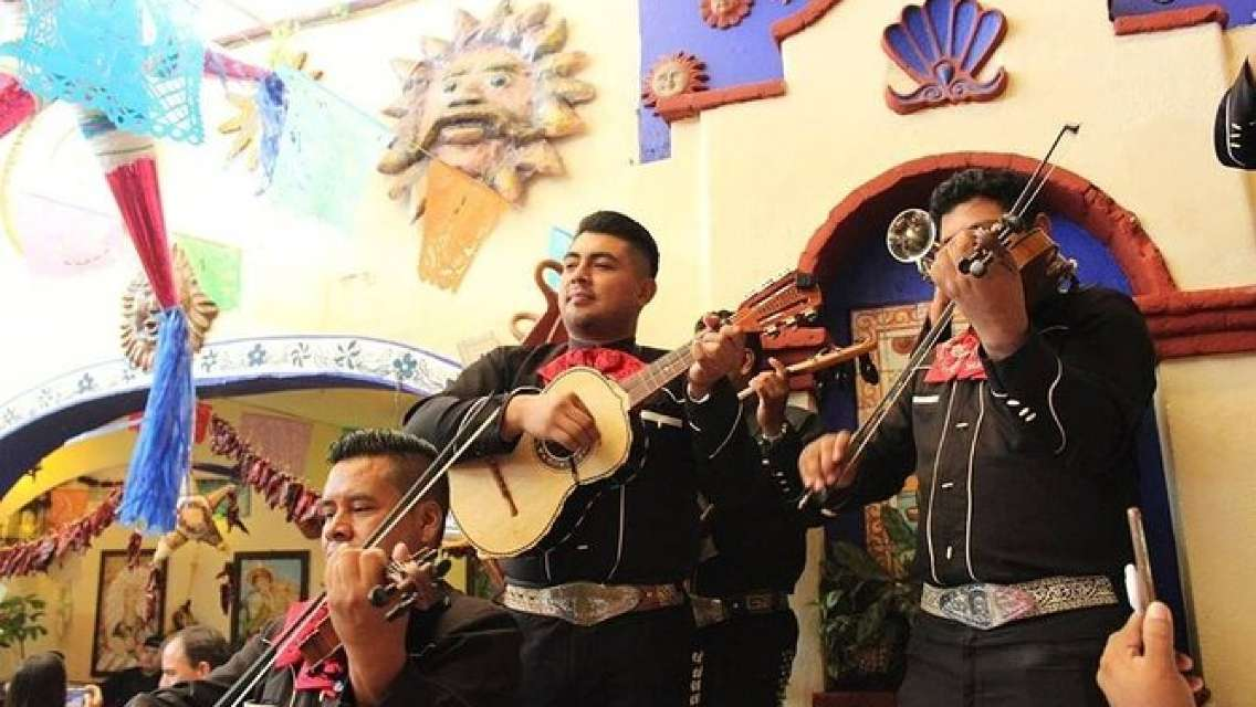 Mexican Dinner with Mariachis
