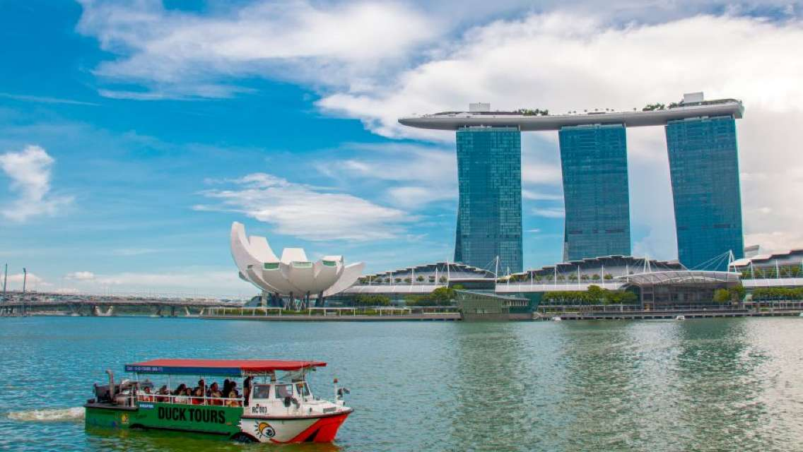 Singapore Duck Tour and Marina Bay Sands Tour