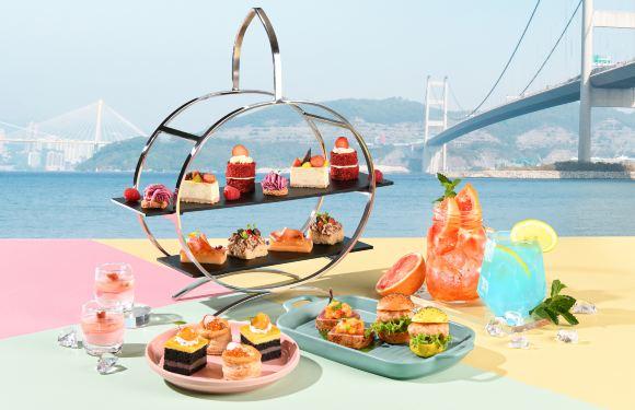 香港挪亞方舟豐盛閣餐廳 - 彩漾初夏海景雙人下午茶 (85折優惠)