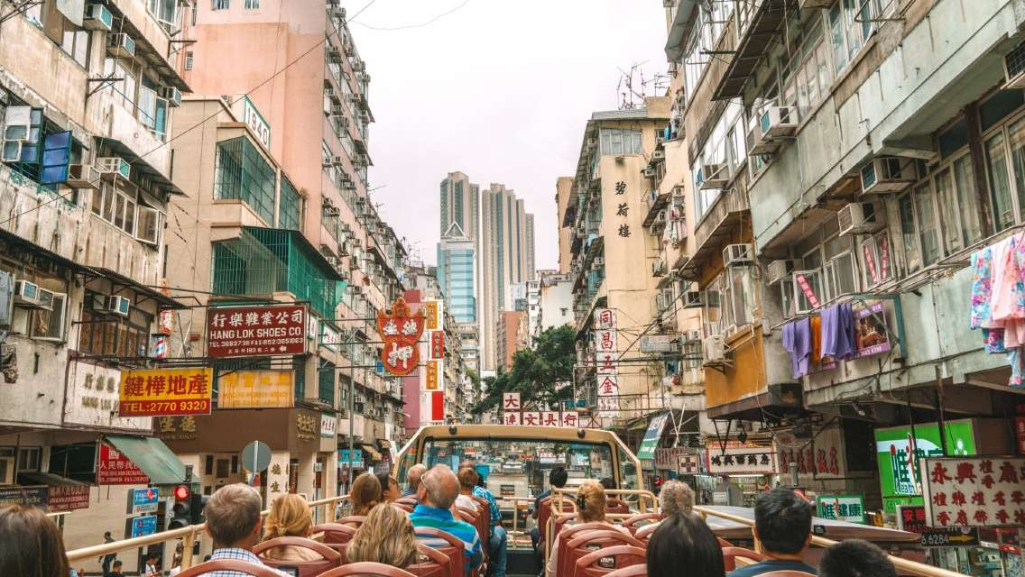 Big Bus Kowloon Guided Cultural and Art Tour with Meal (56% off   Hong Kong Resident Only)